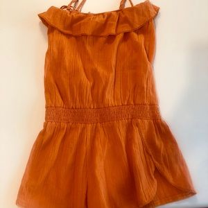 O'Neil Orange Swim Coverup